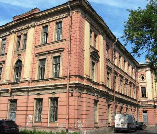 Здание богадельни и школы Ф.М. Садовникова и С.Г. Герасимова