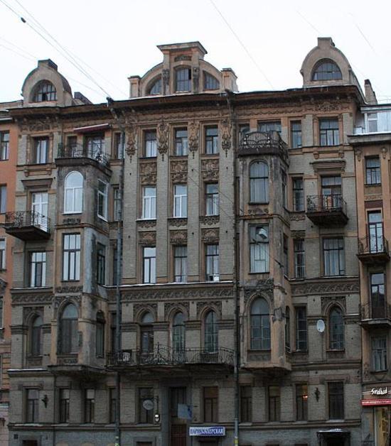 Дом Г.А. Бернштейна