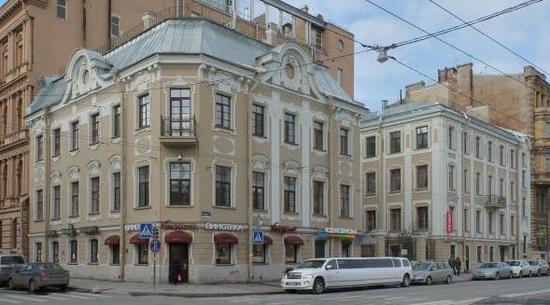 Особняк Матавкина (С.С. Боткина) (с оградой)