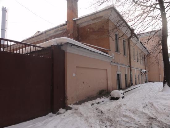 Пожарное отделение и полицейское управление Петербургской части